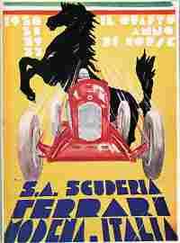 """FERRARI yearbook """"Il Quarto Anno di Corse"""""""