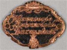 "AUTENRIETH coachwork emblem ""Karosserie Autenrieth"