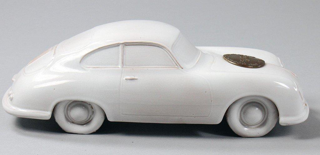 PORSCHE/HERBERT LINGE Porsche type 356 ceramic model