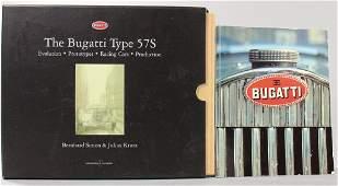 Bugatti, two-part mixed lot of books, The Bugatti type