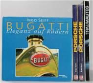 """mixed lot 3 books, archive Ingo Seiff, No. 1: """"Bugatti,"""