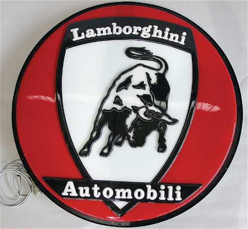 Lamborghini Automobili 1st Known Dealer Sign Of The Car