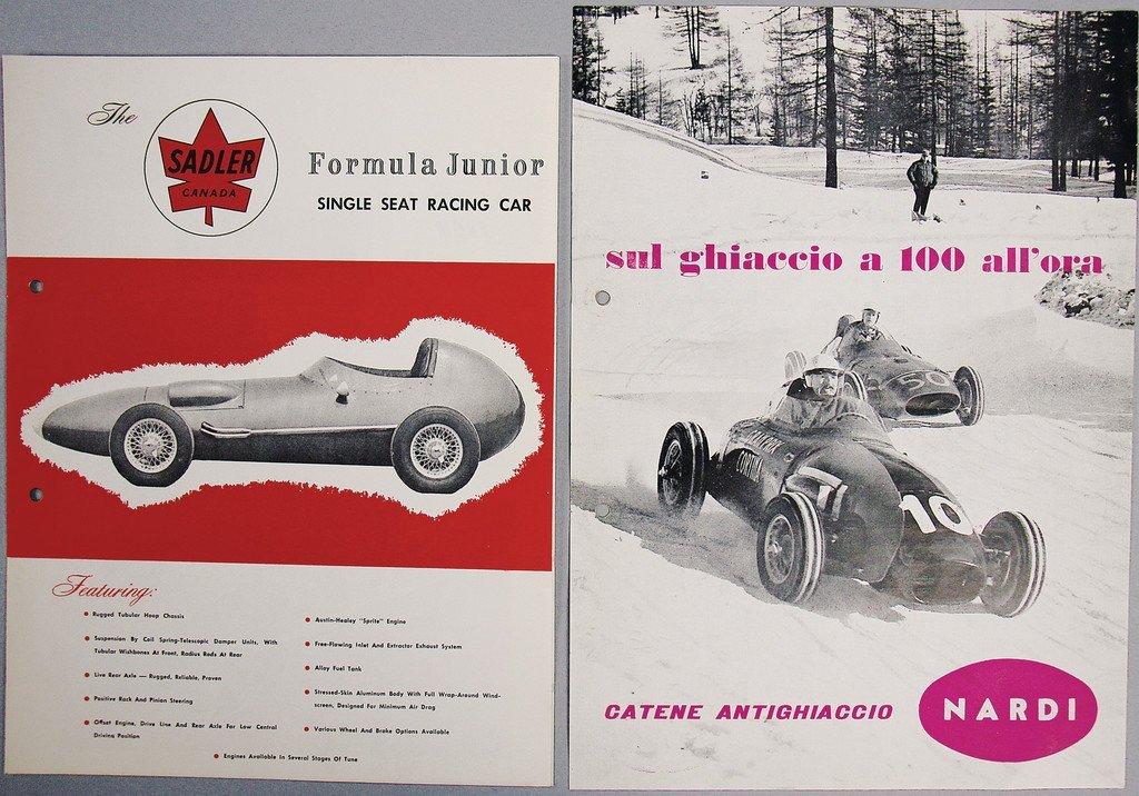 Mixed lot 2-pieces, No. 1 Sadler Formular Junior,