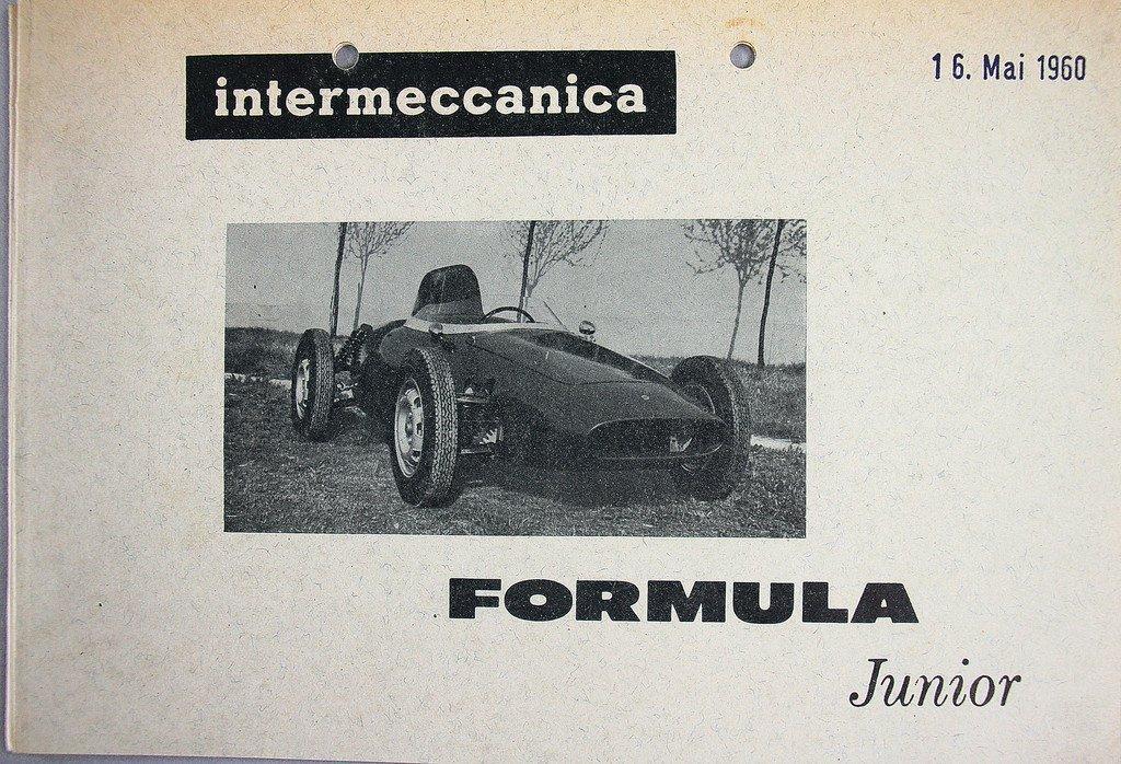 INTERMECCANICA 1960 Technical data and performance