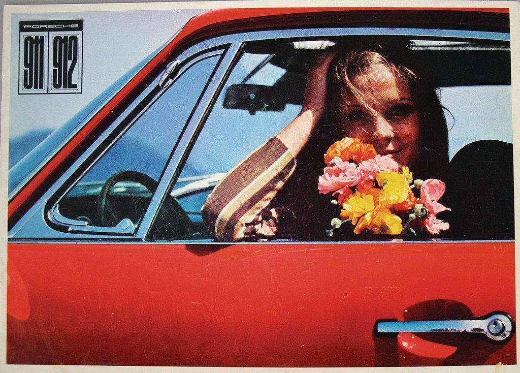 PORSCHE 1966, sales brochure Porsche 911/912, 20 pages,