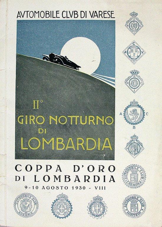 II. Giro notturno di lombardia and concorso d' Eleganca