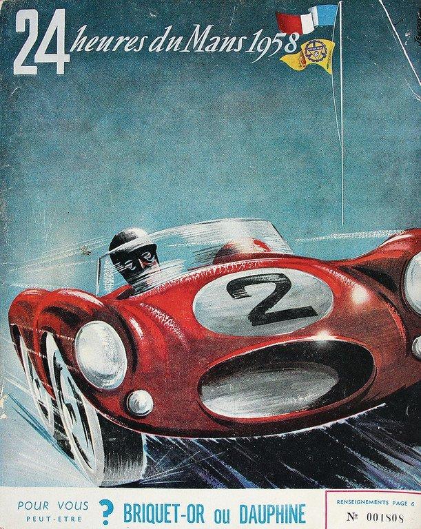 Racing programme 24 heures du mans, 1958, condition 2-