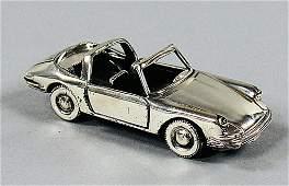PORSCHE Sterling-silver model type 911 T Soft Window