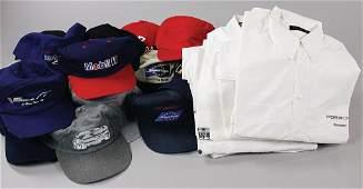 PORSCHE Team clothing and baseball caps among them 7