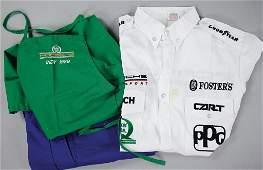 PORSCHE/QAKER STATE Mixed lot of 3 pieces: team clothes