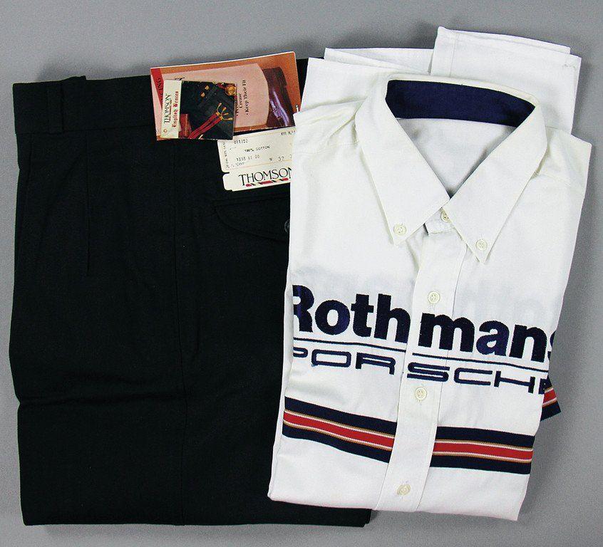 PORSCHE/ROTHMANS Original team clothes short shirt and
