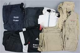 PORSCHE Mixed lot of 10 pieces: Porsche team clothes