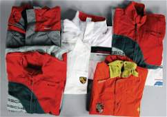 PORSCHE Team clothing from the '90s, 7 pieces, among
