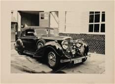 ERDMANN/ROSSI Original B/W factory press photo, Bentley