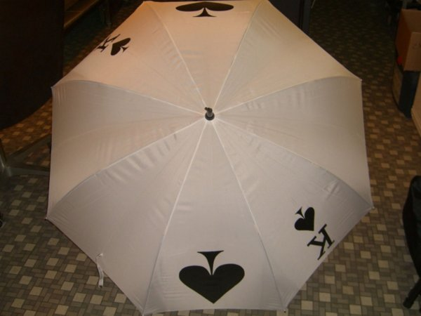 320: Card Umbrella by Kevin James