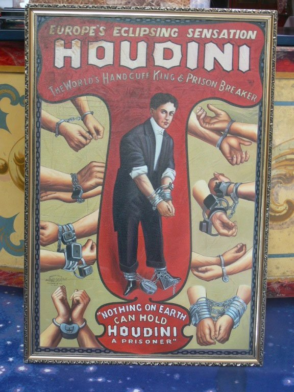 322: Oil Painting «Houdini»