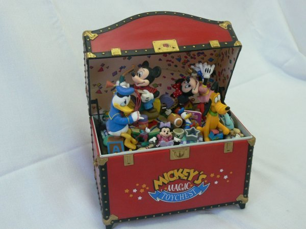 347: Music Set «Mickeys Magic Toy Chest»