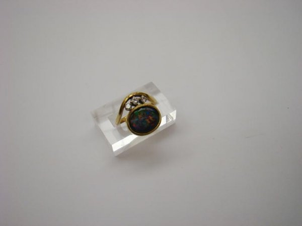 1008: Opal-Brillant-Ring