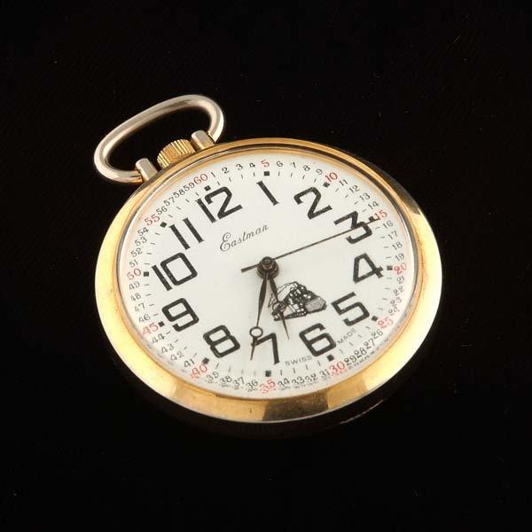 232: Eastman pocket watch. One jewel, unadjusted,