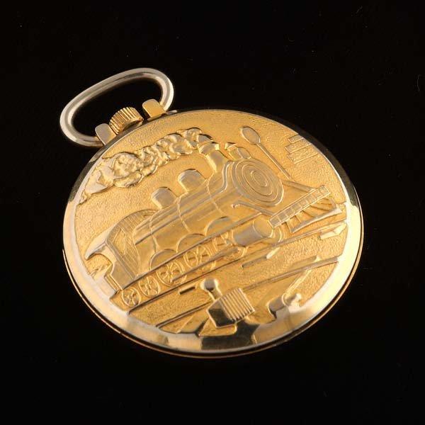 232: Eastman pocket watch. One jewel, unadjusted,  - 2