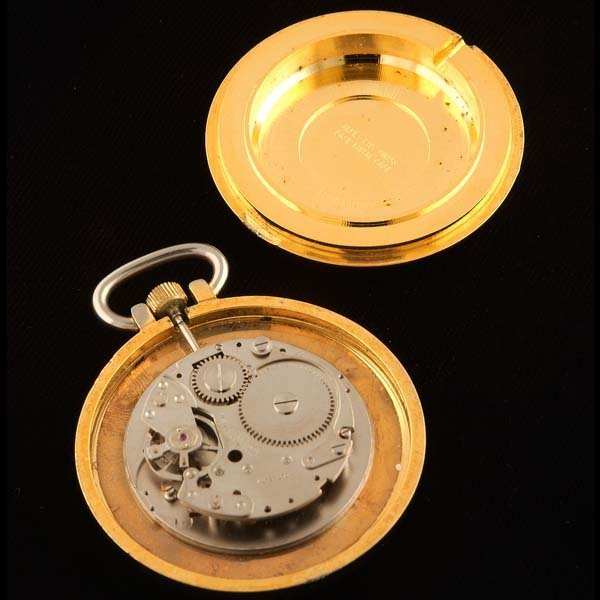 232: Eastman pocket watch. One jewel, unadjusted,  - 3