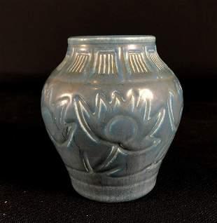 1925 Rookwood Vase No. 2874 Matte Blue Finish