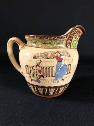 1907 Cinderella Pitcher By Buffalo Pottery #1328