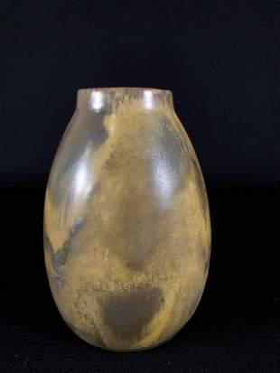 "Red Wing Nokomis Glazed Vase 7-1/4""T"