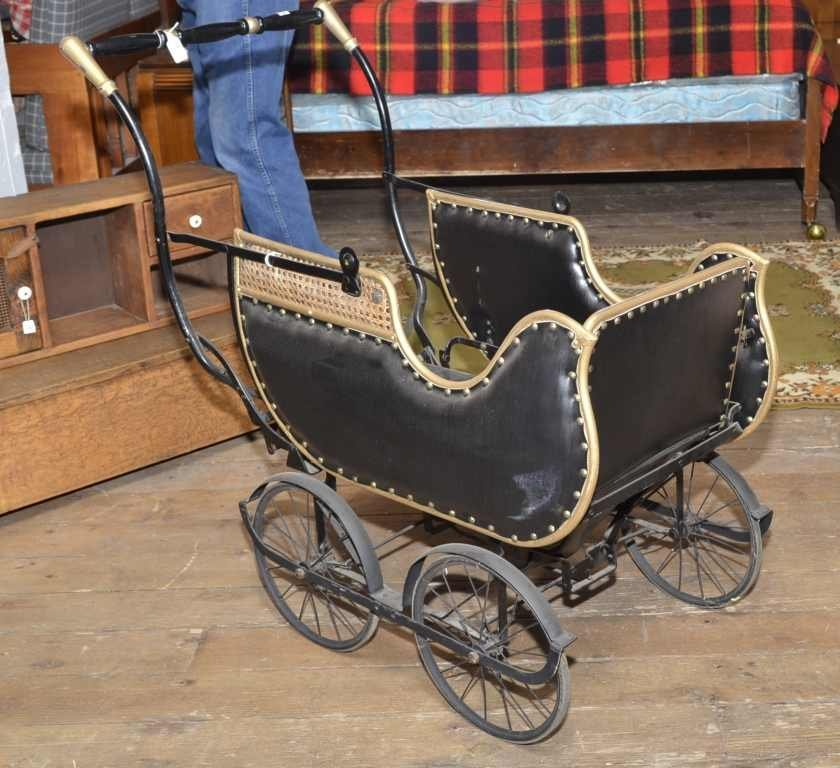 FOUR WHEELED BABY BUGGY