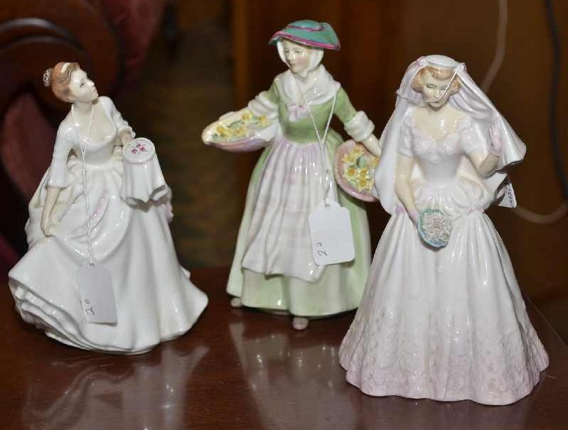 "3 8"" ROYAL DOULTON FIGURINES,  ""DAFFY DOWN DILLY"", ""THE"