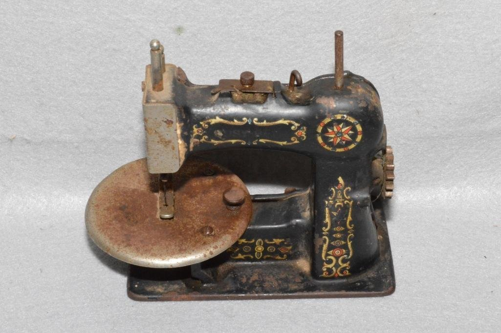 Antique Busy Bee Toy Sewing Machine