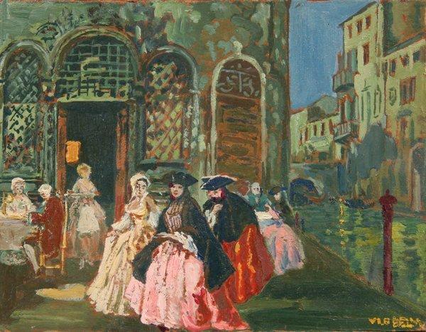 10: La Bella Vincenzo (1872 - 1954)-Italian Painting