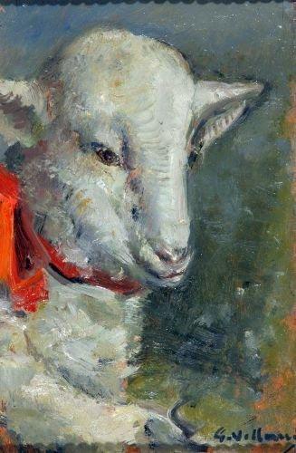 15: Villani Gennaro (1885 - 1948 )-Italian Painting