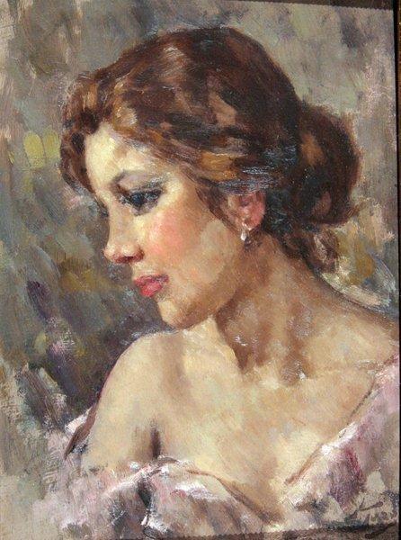 16: Toro Attilio (1892 -1982)-Italian Painting