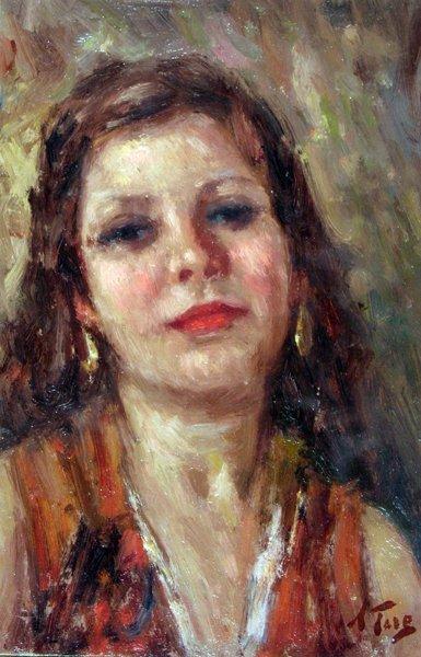 20: Toro Attilio (1892 -1982)-Italian Painting