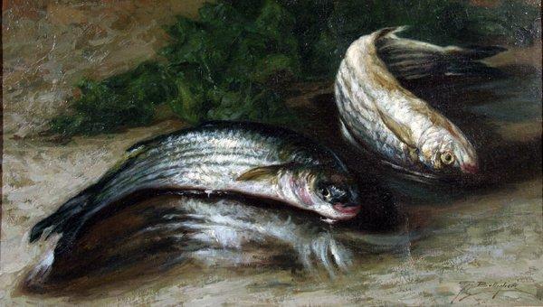 21: Bottiglieri Gennaro (1899-1965)-Italian Painting