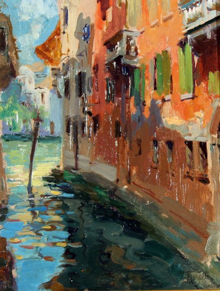 22: Carelli Augusto (1873-1940)-Italian Painting