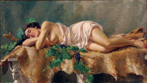 24: Cozzolino Salvatore(1857-dopo1927)-Italian Painting