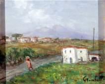 149: Bocchetti Gaetano (1888 - 1990)-Italian Painting