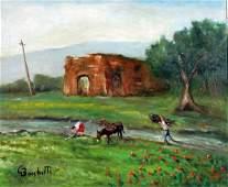 155: Bocchetti Gaetano (1888 - 1990)-Italian Painting