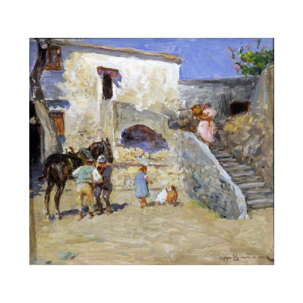 15: Barone Carlo Adolfo - Italian painting