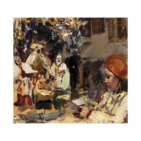 18: Villani Gennaro - Italian painting