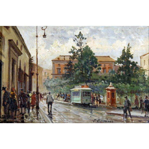 20: Canino Vincenzo  - Italian painting