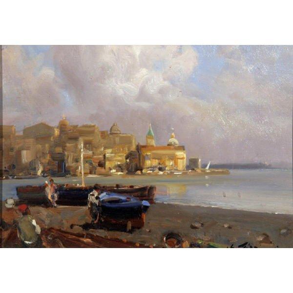 21: Pizziarani Edoardo - Italian painting