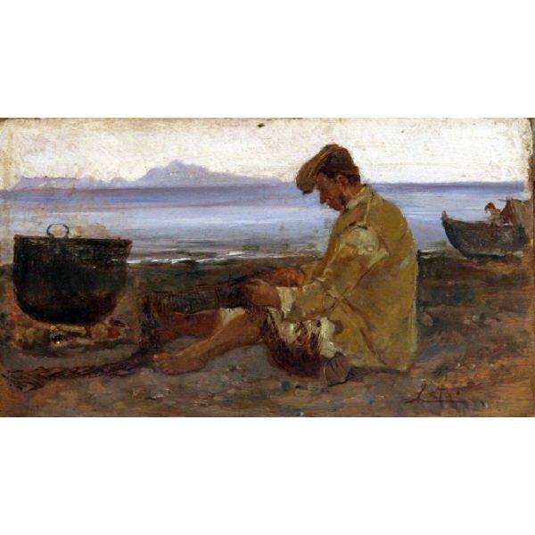 48: Leto Antonino  - Italian painting