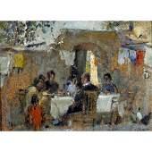 76: Villani Gennaro - italian painting