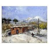 98: Bocchetti Gaetano - Italian painting