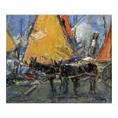 102: Villani Gennaro - Italian painting