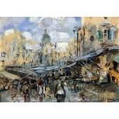 123: Villani Gennaro - Italian painting