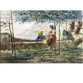 161: Capone Gaetano - Italian painting